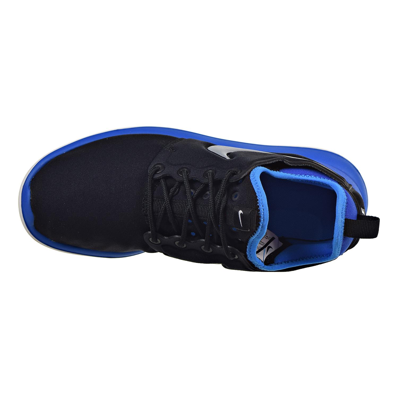 8cb1dc161f56c Nike Roshe Two Big Kids  Shoes Black Metallic Platinum-Photo Blue-Gym Royal  844653-002