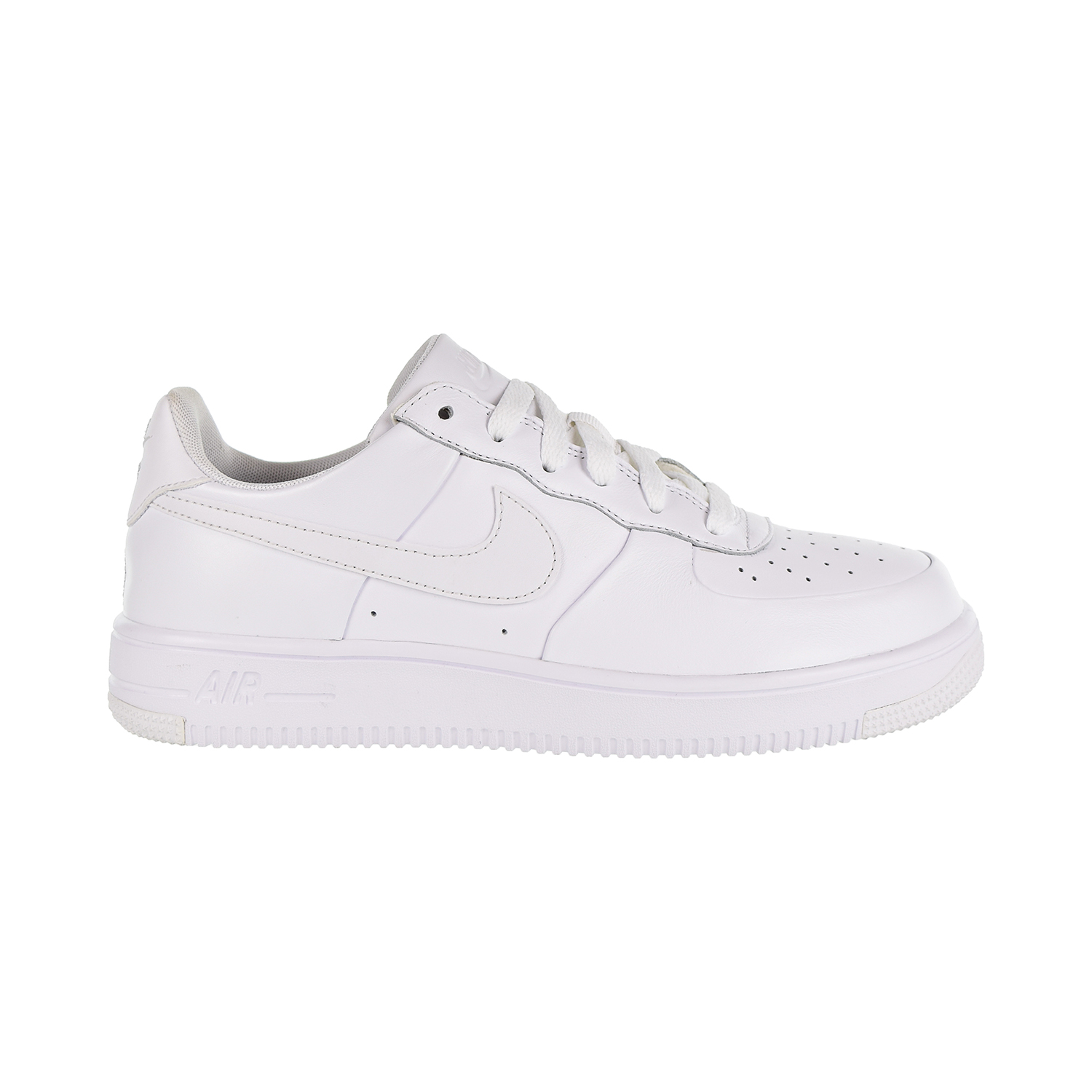 the best attitude c668d a4106 Details about Nike Air Force 1 Ultraforce GS Big Kids  Shoes White White  White 845128-101