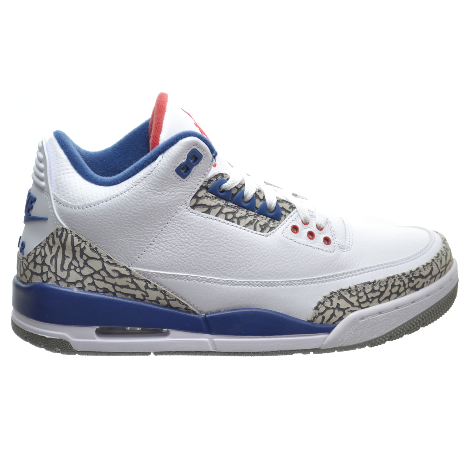 dd68837bd63d Details about Air Jordan 3 Retro OG Men s Basketball Shoes White Fire Red True  Blue 854262-106