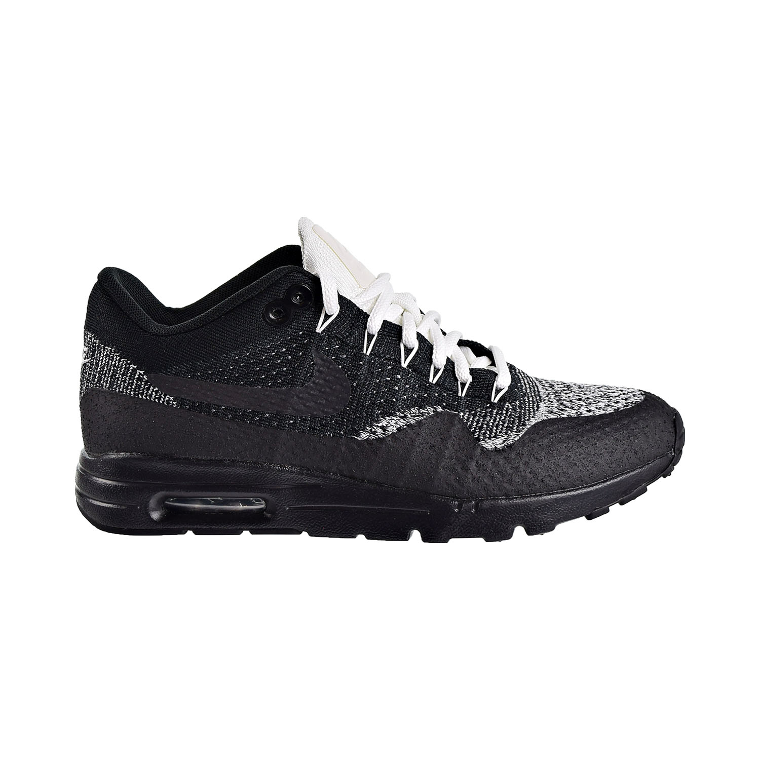 Details about Nike Air Max 1 Ultra Flyknit Womens Shoes Black Anthracite White 859517 001