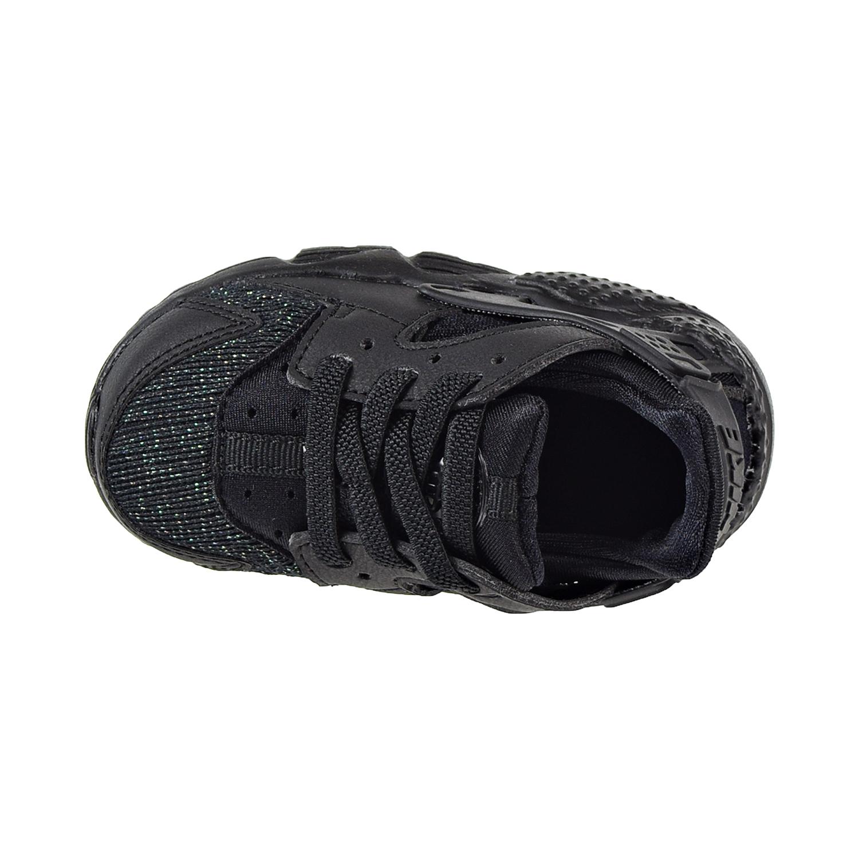2d6dfce34e717 Nike Huarache Run SE Toddler s Shoes Black Black 859592-009
