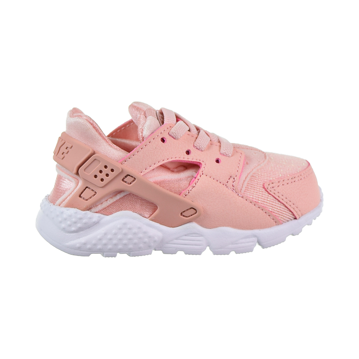 79ffc3942be4d Details about Nike Huarache Run SE Toddler s Shoes Storm Pink Rust Pink White  859592-604
