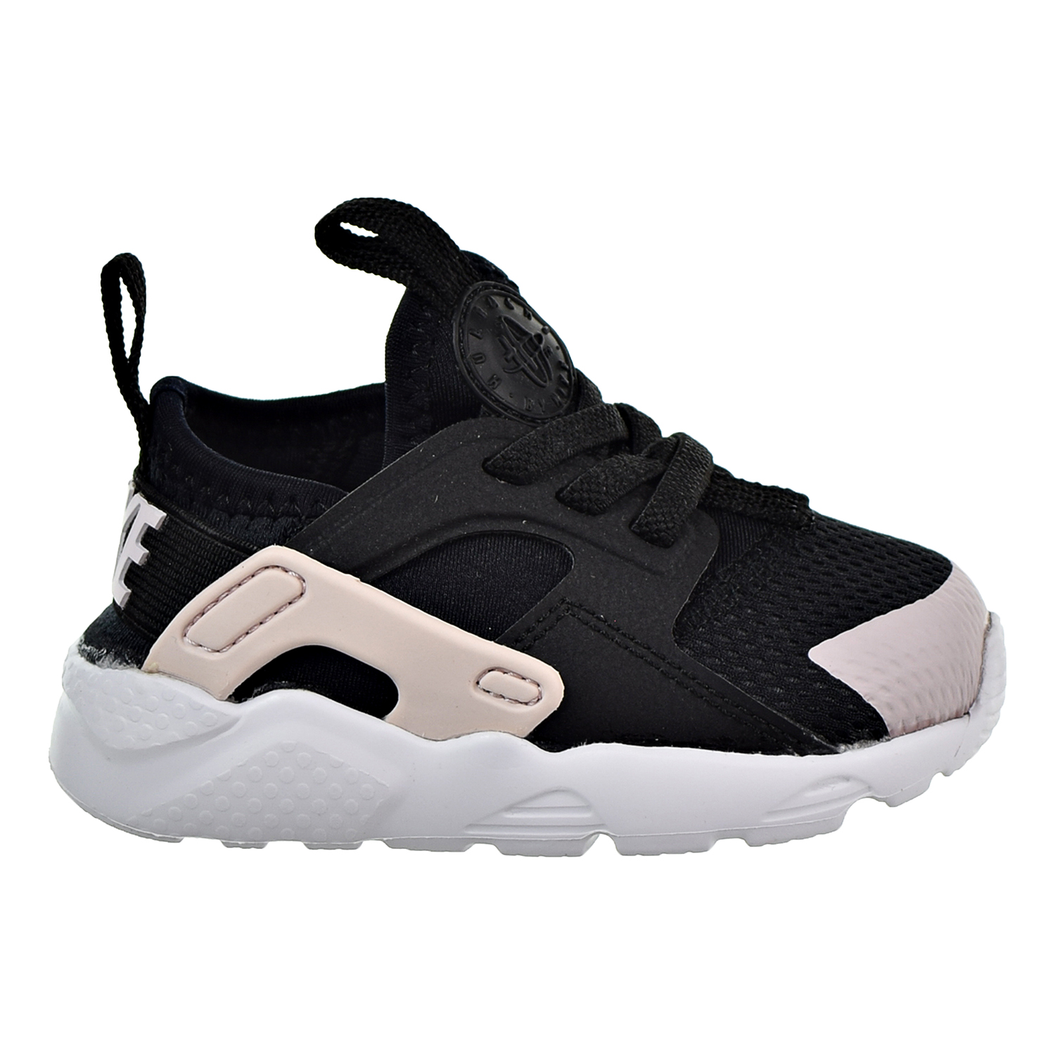 71db223d5287 Details about Nike Huarache Run Ultra Toddlers  Shoes Black Barely  Rose-White 859595-010