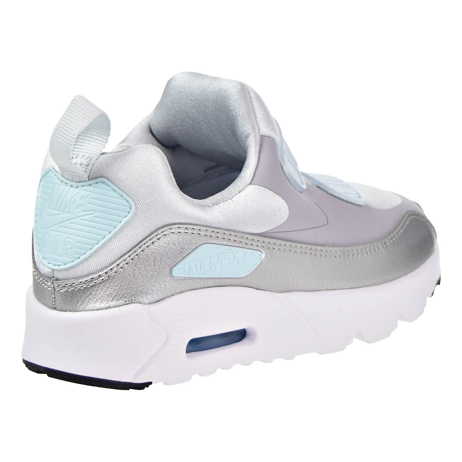 5a4913c464 Nike Air Max Tiny 90 (PS) Running Shoes Pure Platinum/Wolf Grey 881926-001