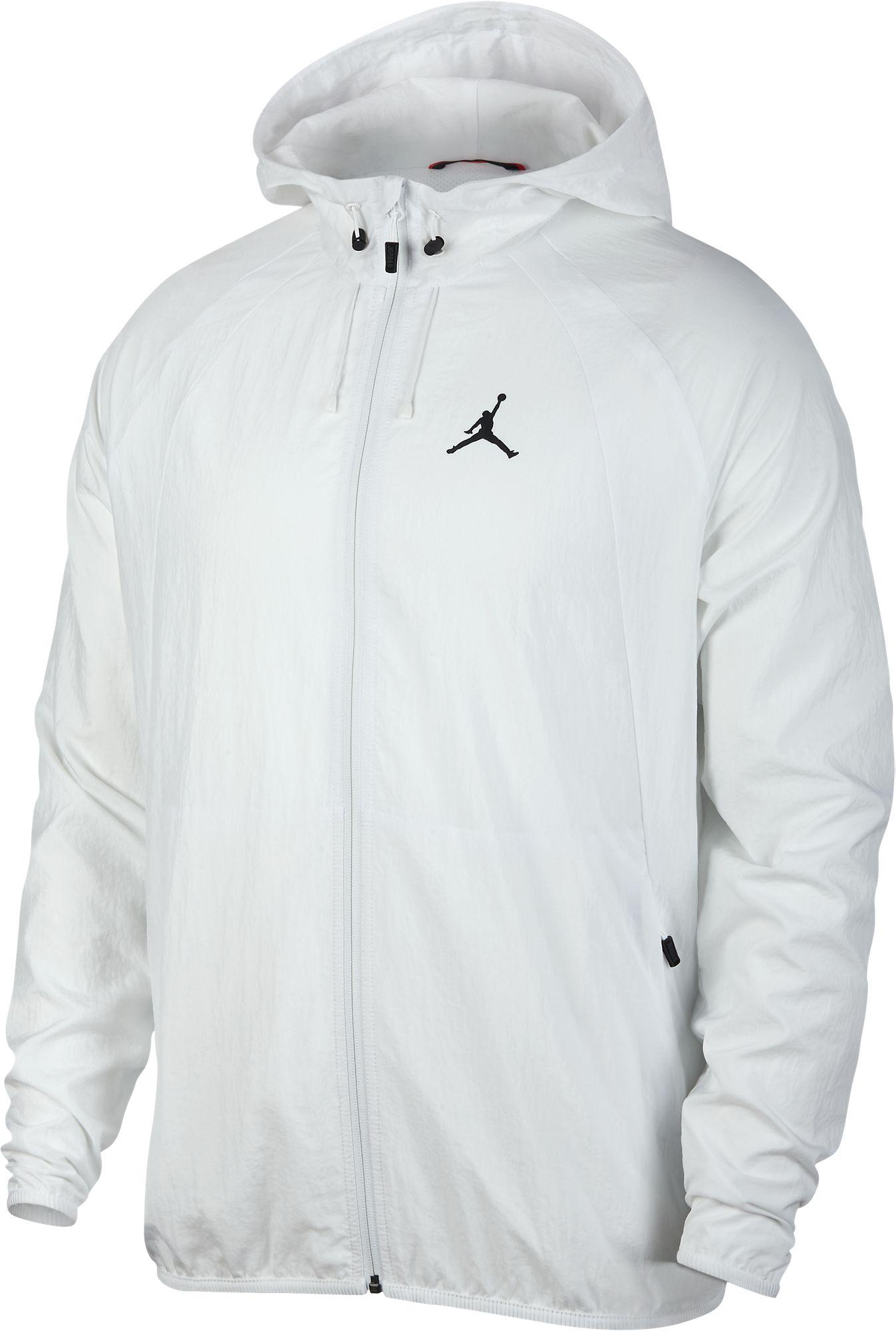 b91cf105b8d Details about Jordan Sportswear Wings Windbreaker Men's Athletic Jacket  White/Black 894228-121