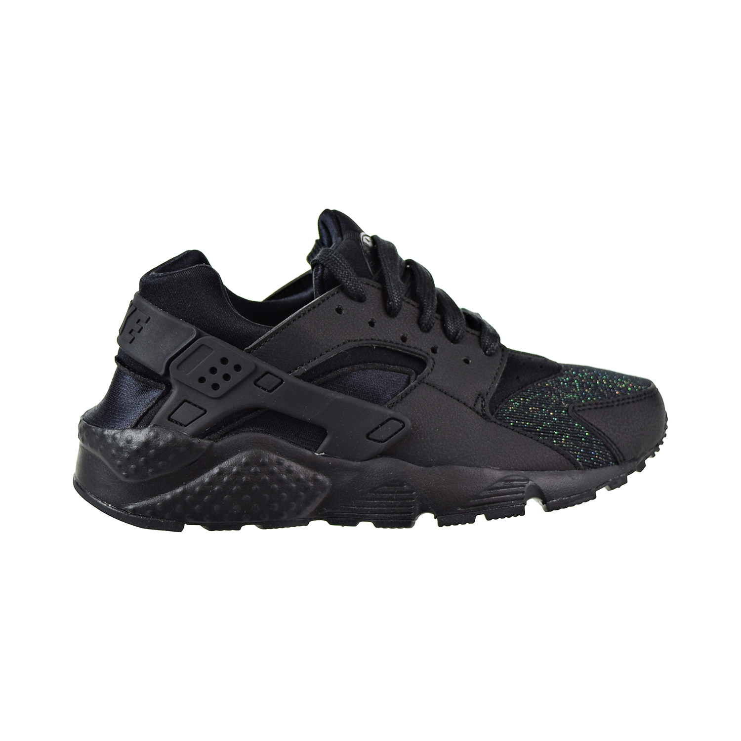 Details about Nike Huarache Run SE Big Kids  Shoes Black 904538-009 5927ea9c1638
