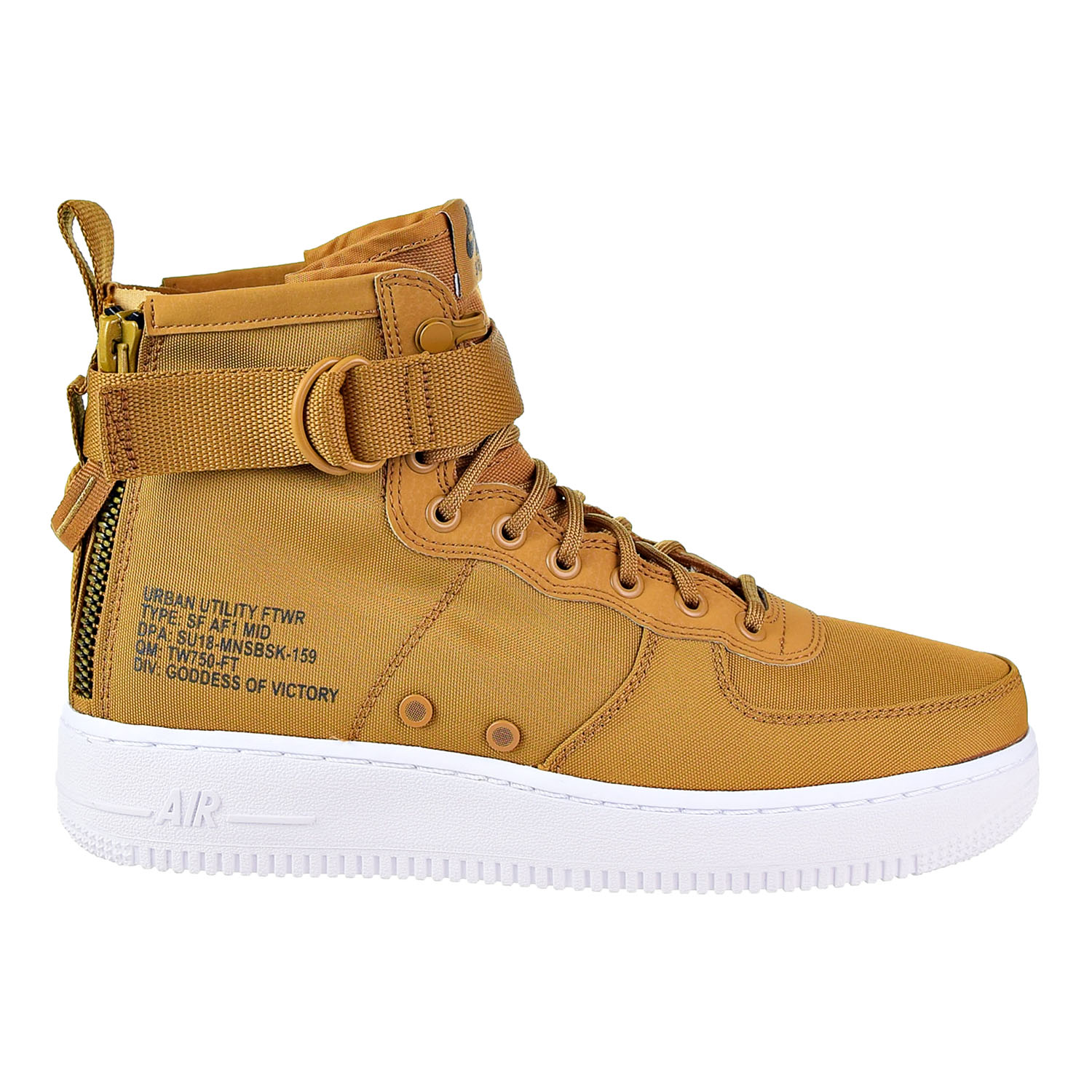 Details about Nike SF Air Force 1 Mid Men's Shoes Desert Ochre Sequola White 917753 700
