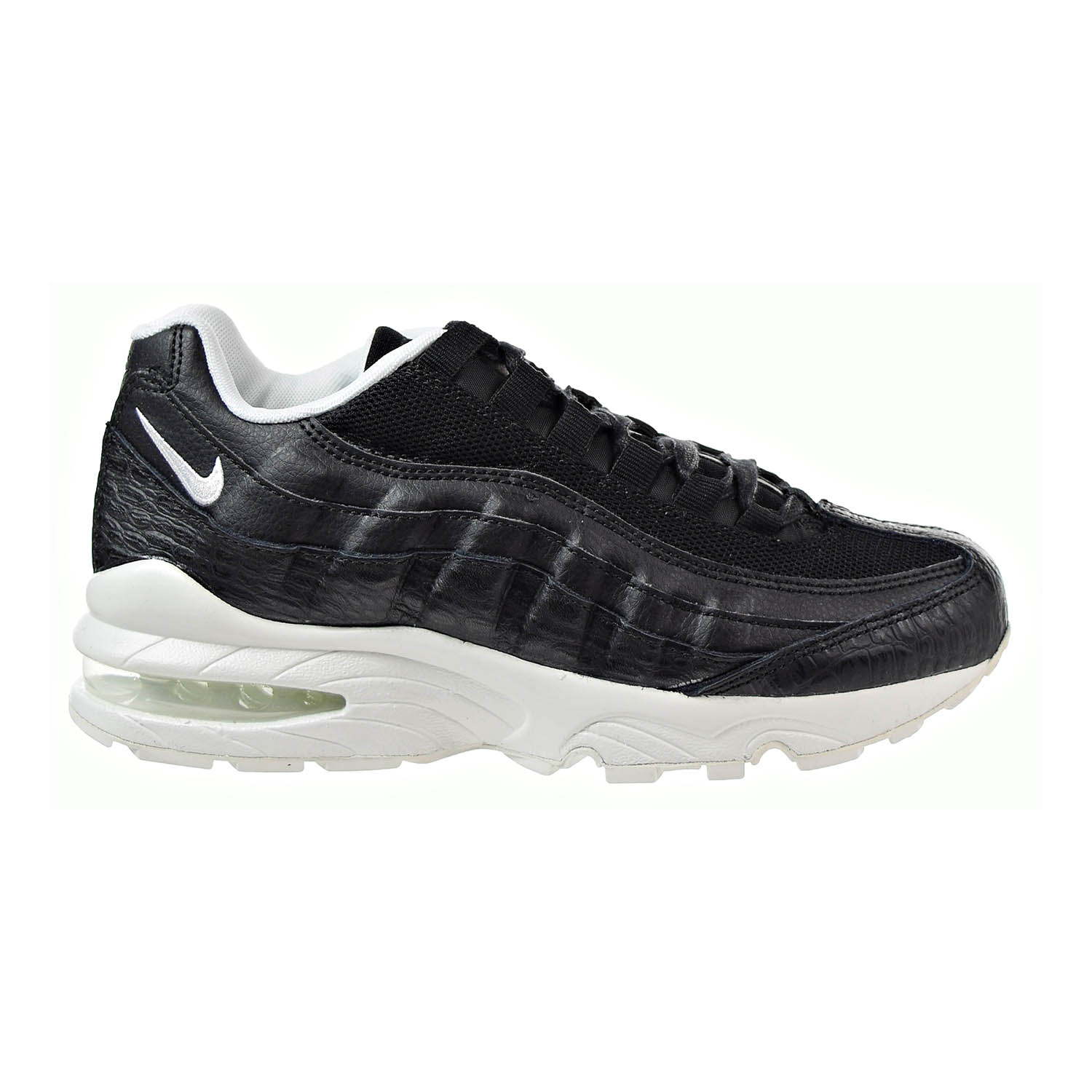 Details about Nike Air Max 95 SE Big Kids\u0027 Shoes Black,Summit White  922173,002