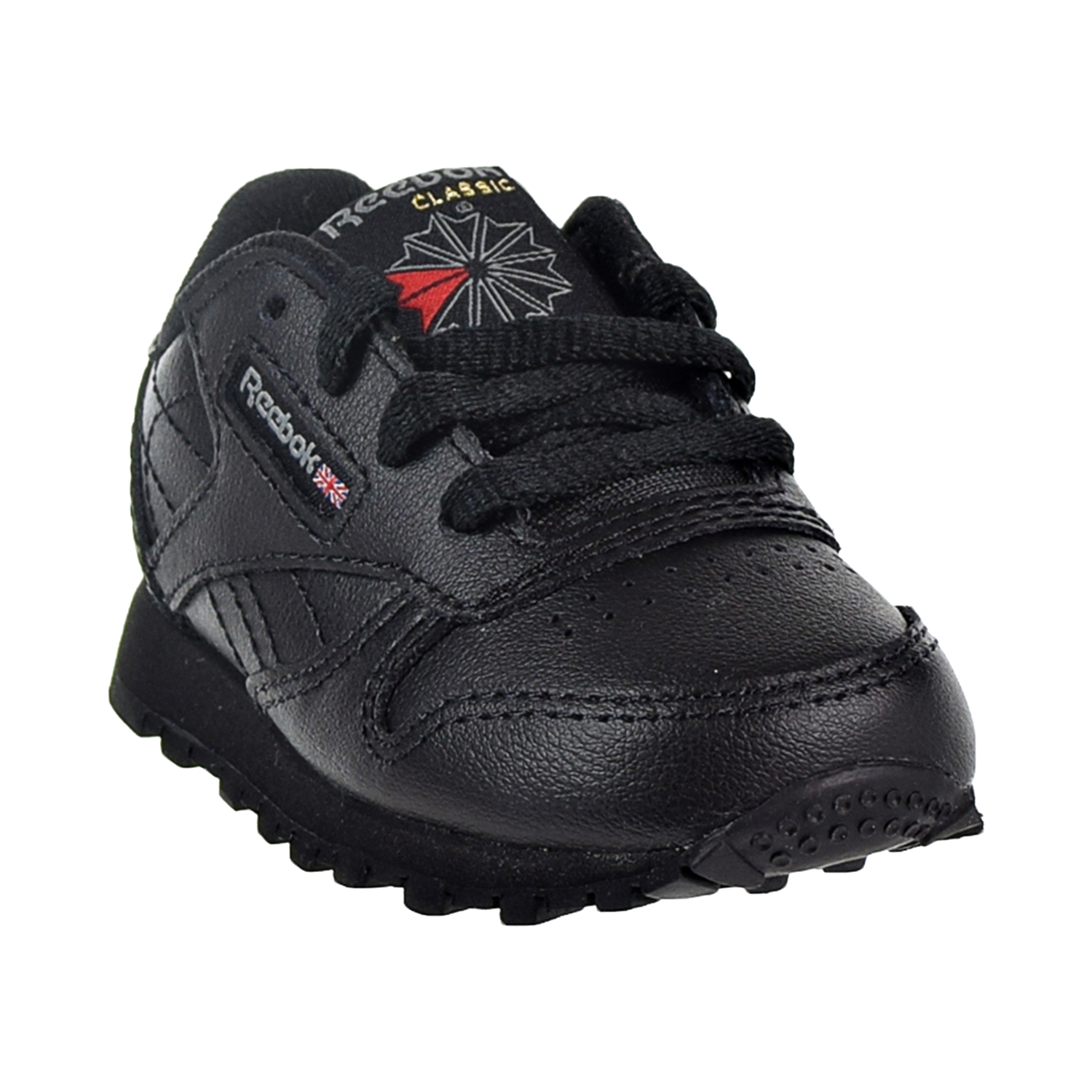 8be4db4043a Reebok Classic Leather Toddler s Shoes Black 92757
