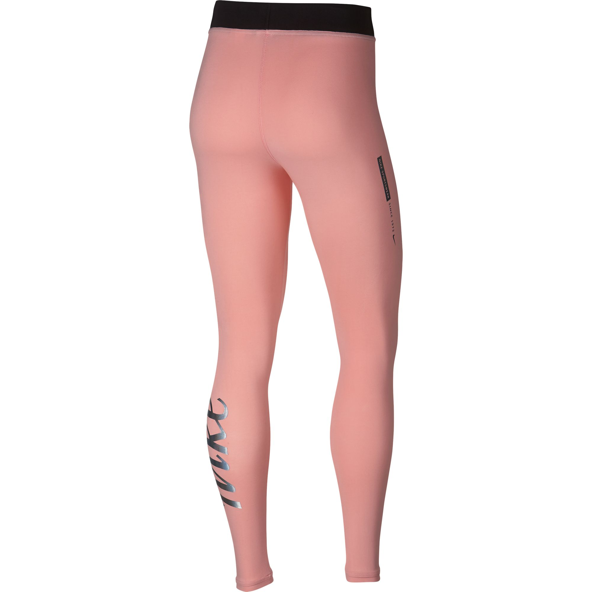 quite nice skate shoes clearance prices Details about Nike Women's Sportswear High Waisted Metallic Leggings Pink  AH9961-697