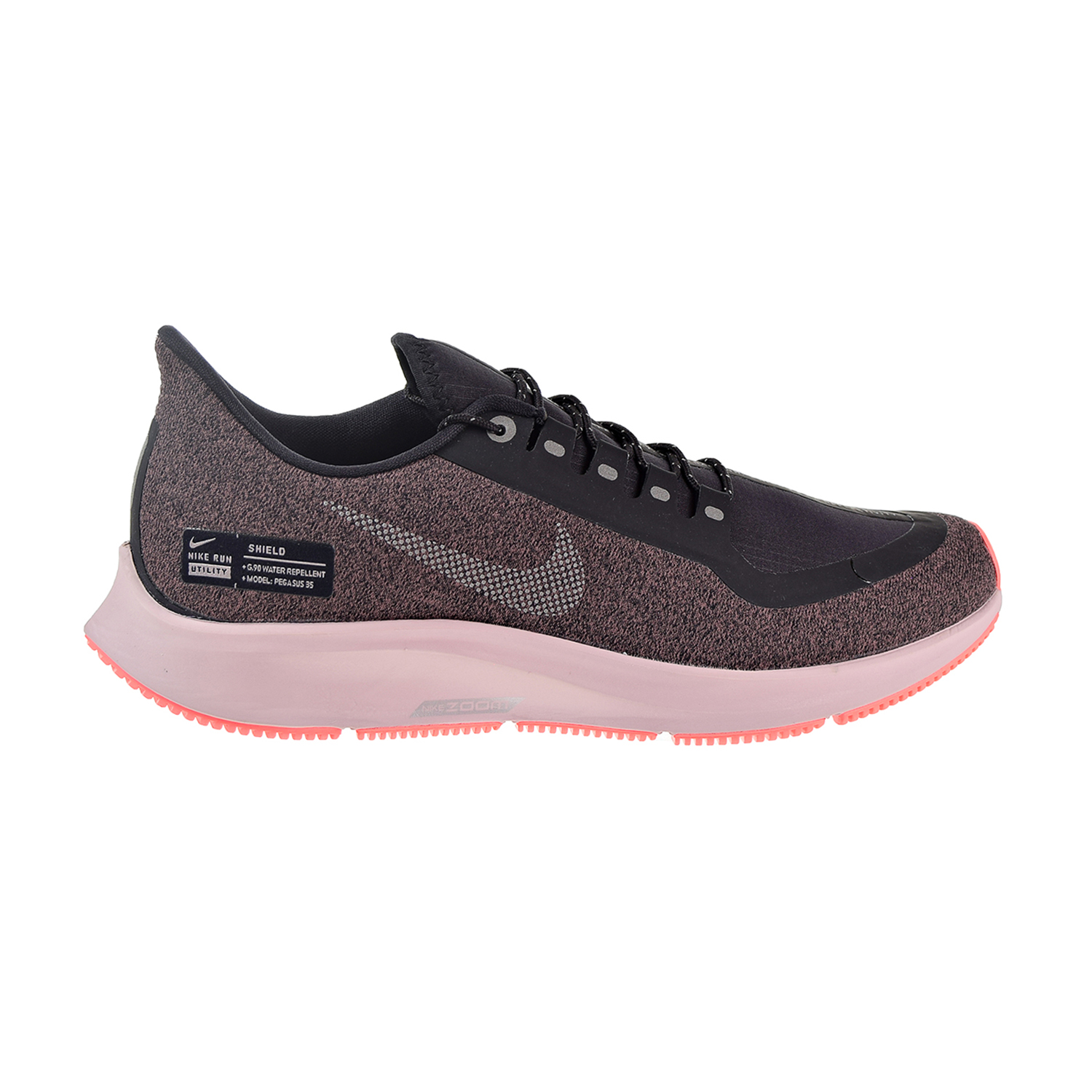 781c8d663bb Details about Nike Air Zoom Pegasus 35 Shield Women s Shoes Oil Grey Smokey  Mauve AA1644-001