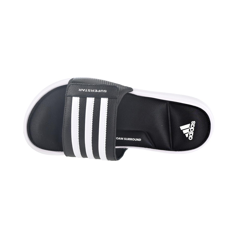 Detalles acerca de Adidas Superstar Diapositivas Para hombre Sandalias Core NegroCalzado Blanco AC8325 mostrar título original
