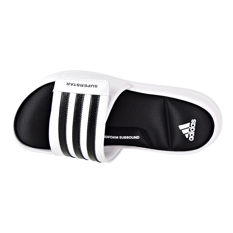 f828afda9a7 ... adidas superstar 5g slides Adidas Superstar 5G Men u0027s Slide Sandals  White Black ...
