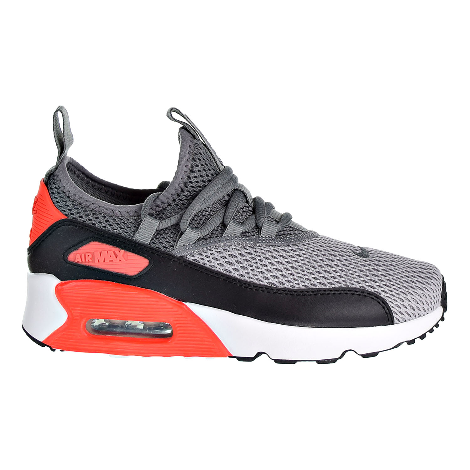 Details about Nike Air Max 90 Ez (GS) Boys Shoes Wolf Grey Cool Grey Black AH5211 002