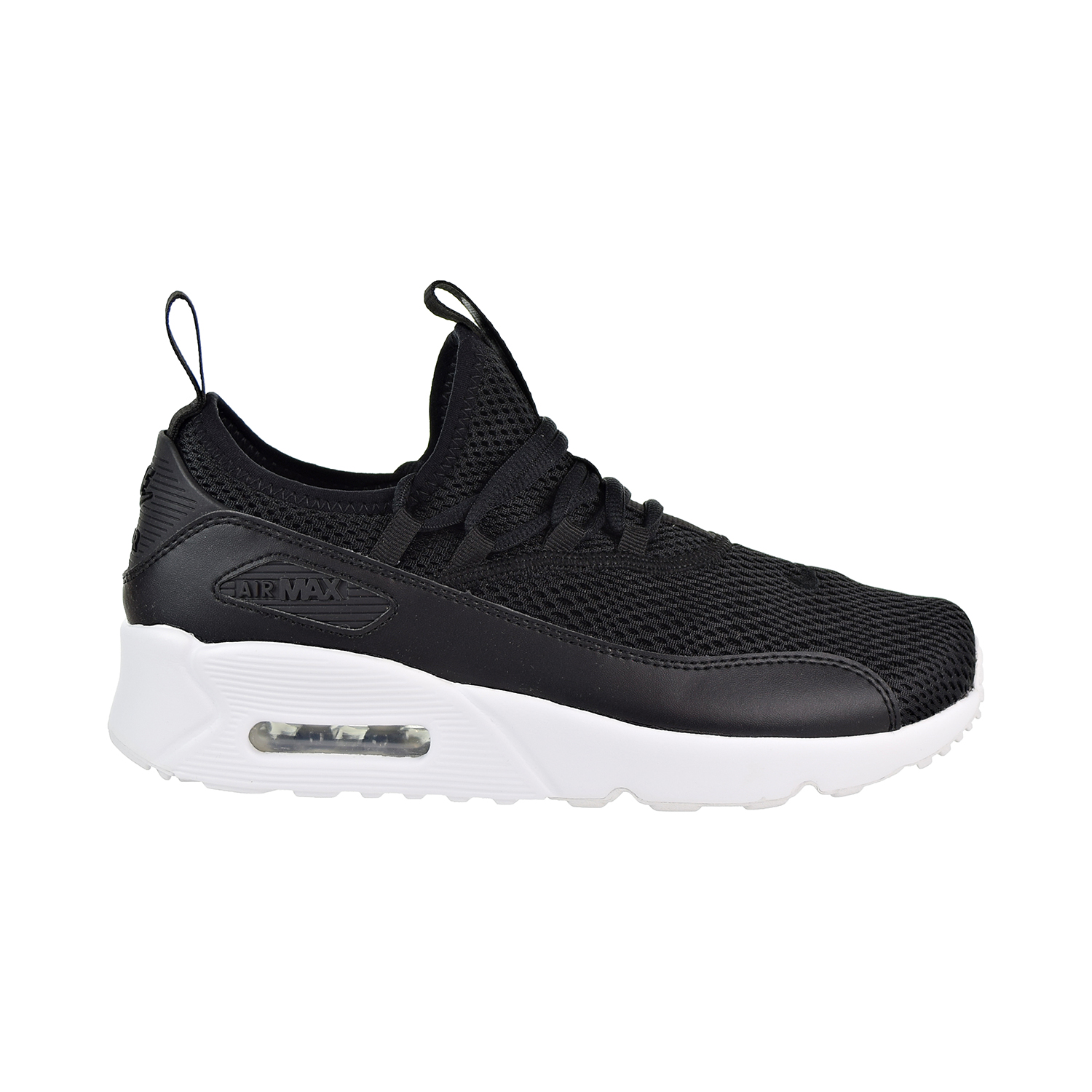 427676c4ca0 Details about Nike Air Max 90 EZ Big Kids  Shoes Black White AH52111-005