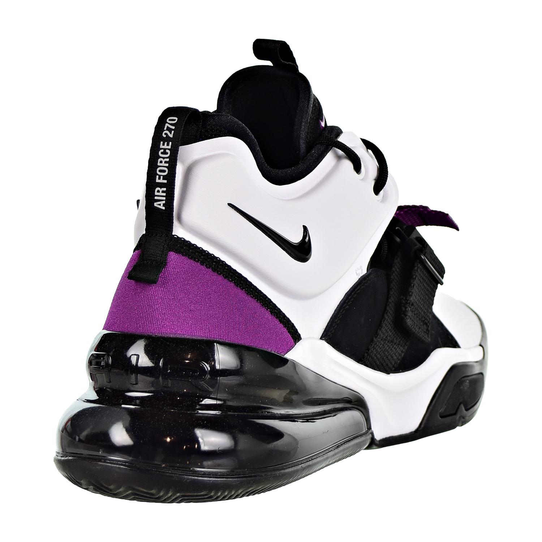 Details about Nike Air Force 270 Men's Shoes White Black Lyon Blue AH6772 101