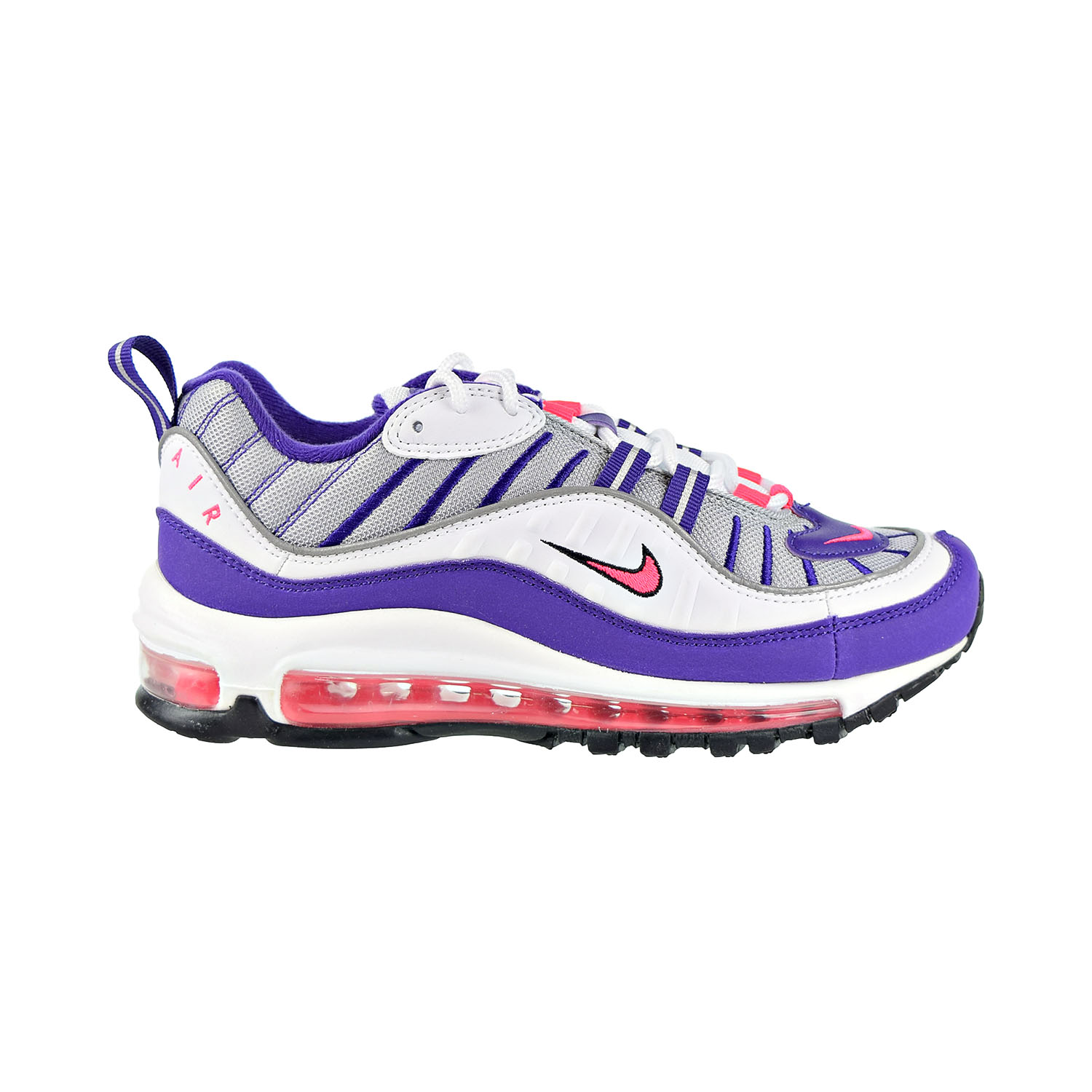 Details about Nike Air Max 98 Women's Shoes White Racer Pink ah6799 110