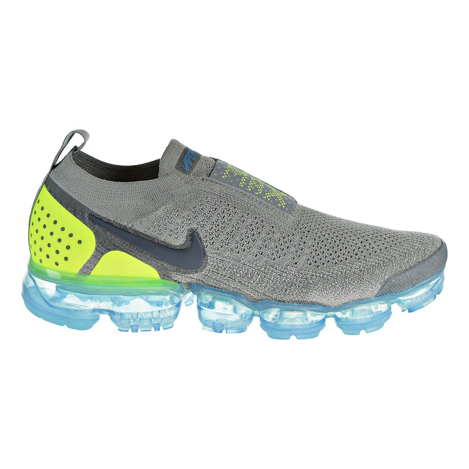 6036080c67a5 Details about Nike Air VaporMax Flyknit Moc 2 Unisex Shoe Mica  Green Volt-Turquoise AH7006-300