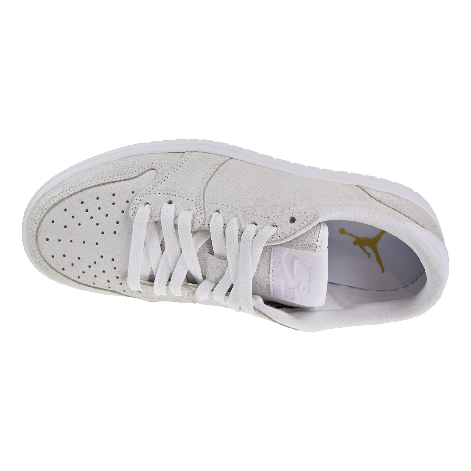 finest selection 57261 2cffd Air Jordan 1 Retro Low NS Women s Shoes White Metallic Gold ah7232-100