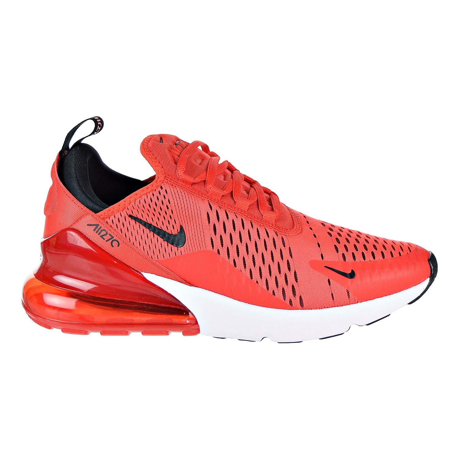 Details about Nike Air Max 270 Men's Shoes Habanero RedBlackWhite AH8050 601