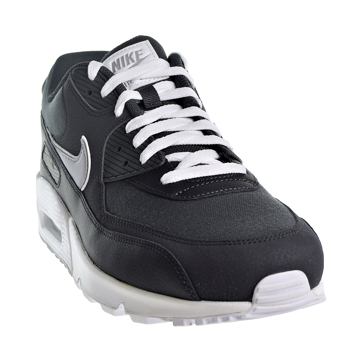 innovative design aefc6 51990 Nike Air Max 90 Essential Men s Shoes Anthracite Wolf Grey White aj1285-005