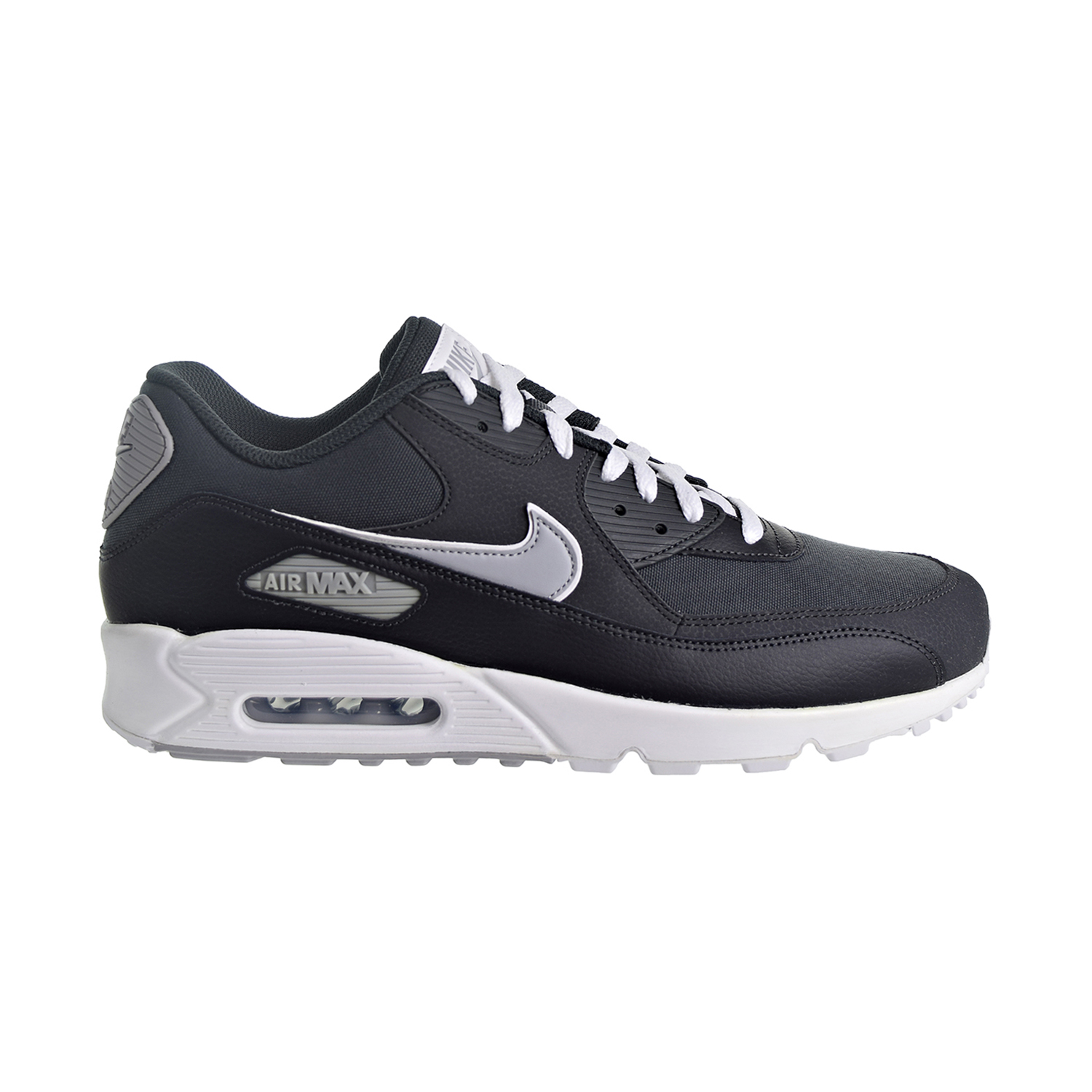 Details about Nike Air Max 90 Essential Men's Shoes AnthraciteWolf GreyWhite AJ1285 005