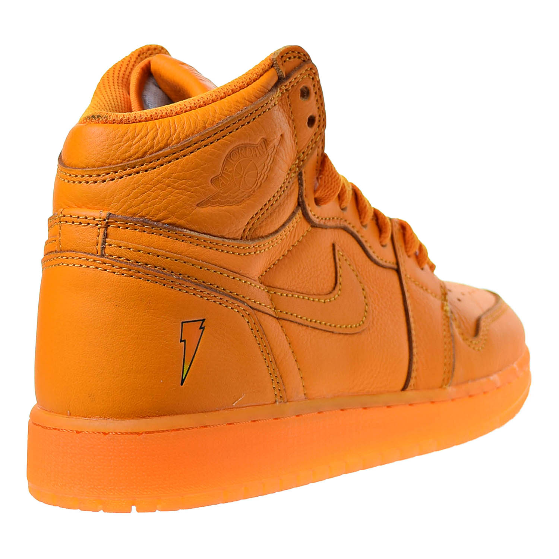 sports shoes ee057 50094 Air Jordan 1 Retro High Gatorade Big Kids  Sneakers Orange Peel   Orange  Peel aj6000-880