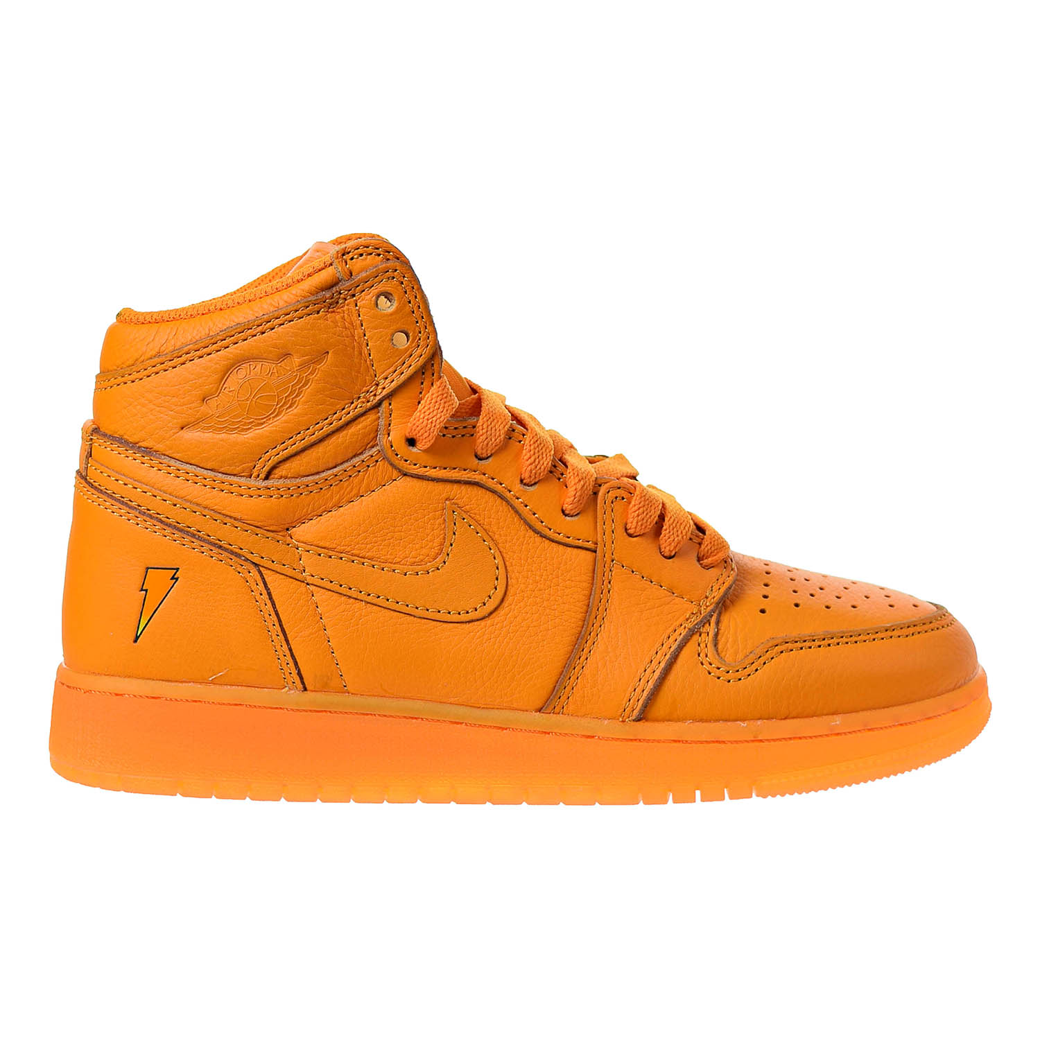 best authentic a6087 b9262 Details about Air Jordan 1 Retro High Gatorade Big Kids' Sneakers Orange  Peel AJ6000-880