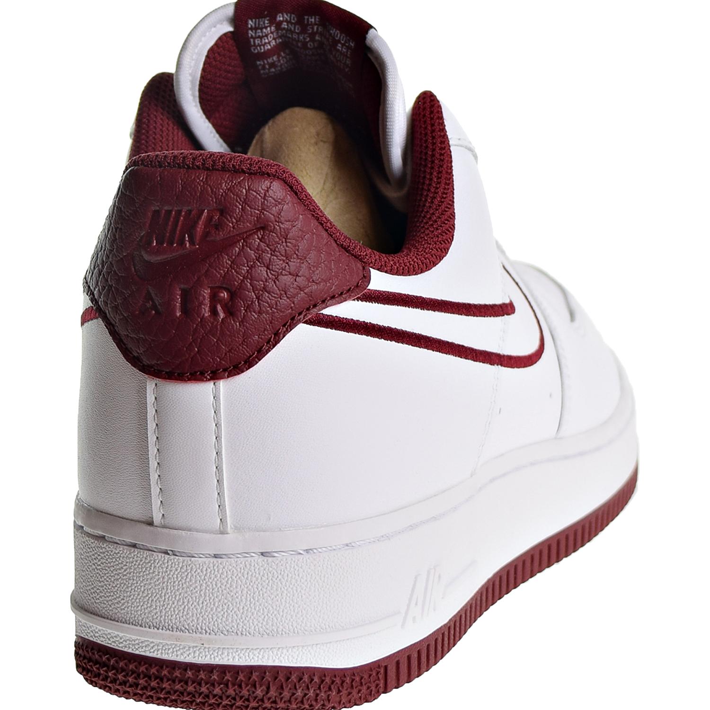 4fc9ed3b27d Nike Air Force 1  07 LTHR Men s Shoes White Team Red AJ7280-100