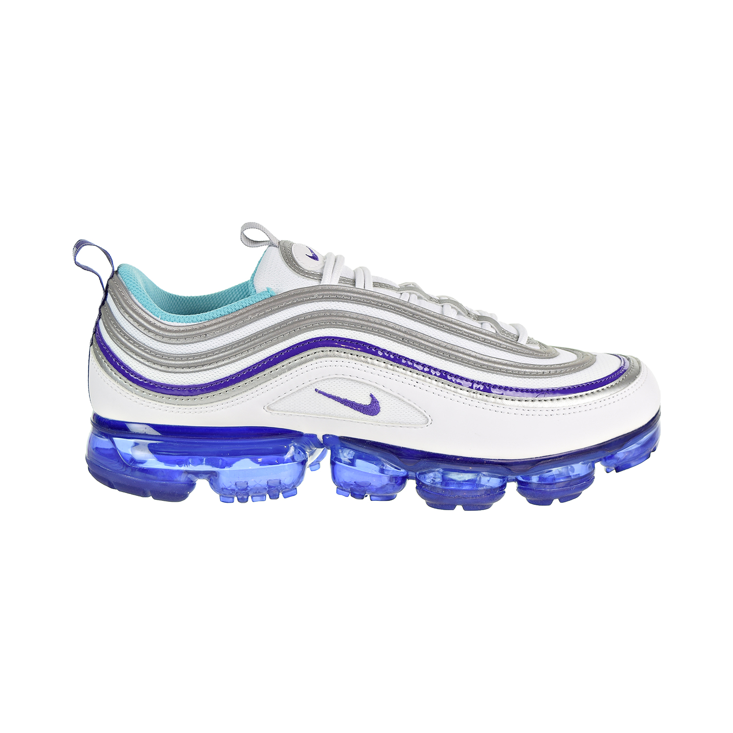 621f901153a Nike Air Vapormax  97 Men s Shoes White Aqua Varsity Purple  Metallic Silver  aj7291-100