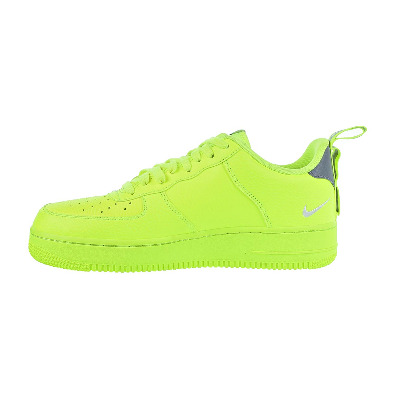 7bfa25cc Nike Air Force 1 '07 LV8 Utility Men's Shoes Volt/White/Black/Wolf Grey  aj7747-700