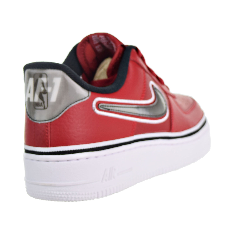 new arrival 296ad e856d Nike Air Force 1  07 LV8 Sport NBA Men s Shoes Varsity Red Black White  aj7748-600