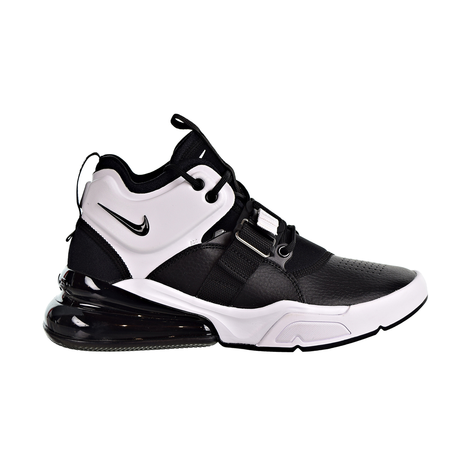 Details about Nike Air Force 270 Big Kids  Shoes Black White Anthracite  AJ8208-001 1beff20bc