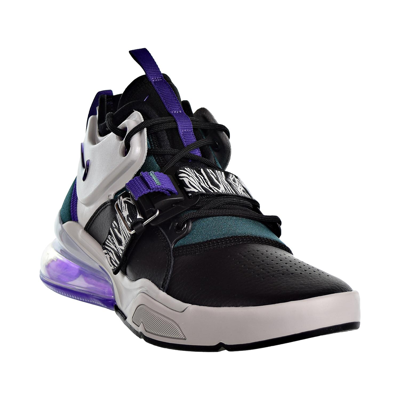 6e3c11af83ab Nike Air Force 270 Big Kids  Shoes Light Zen Grey Court Purple aj8208-002