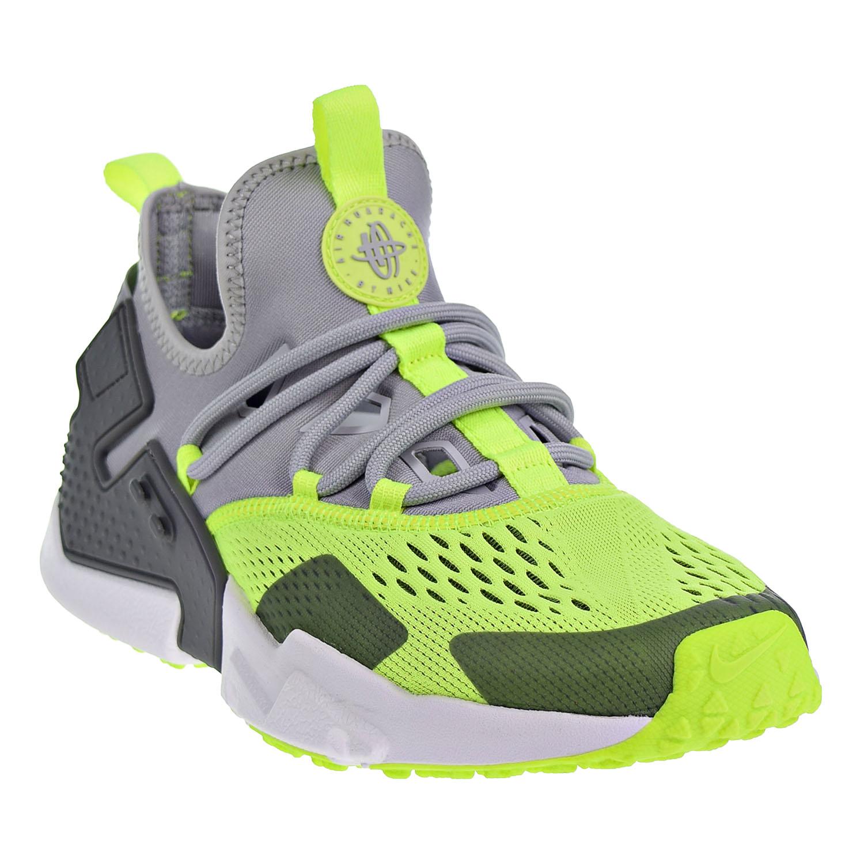 d9b9aaee213c1 Nike Air Huarache Drift BR Mens Shoes Wolf Grey Volt Dark Grey White ao1133 -001