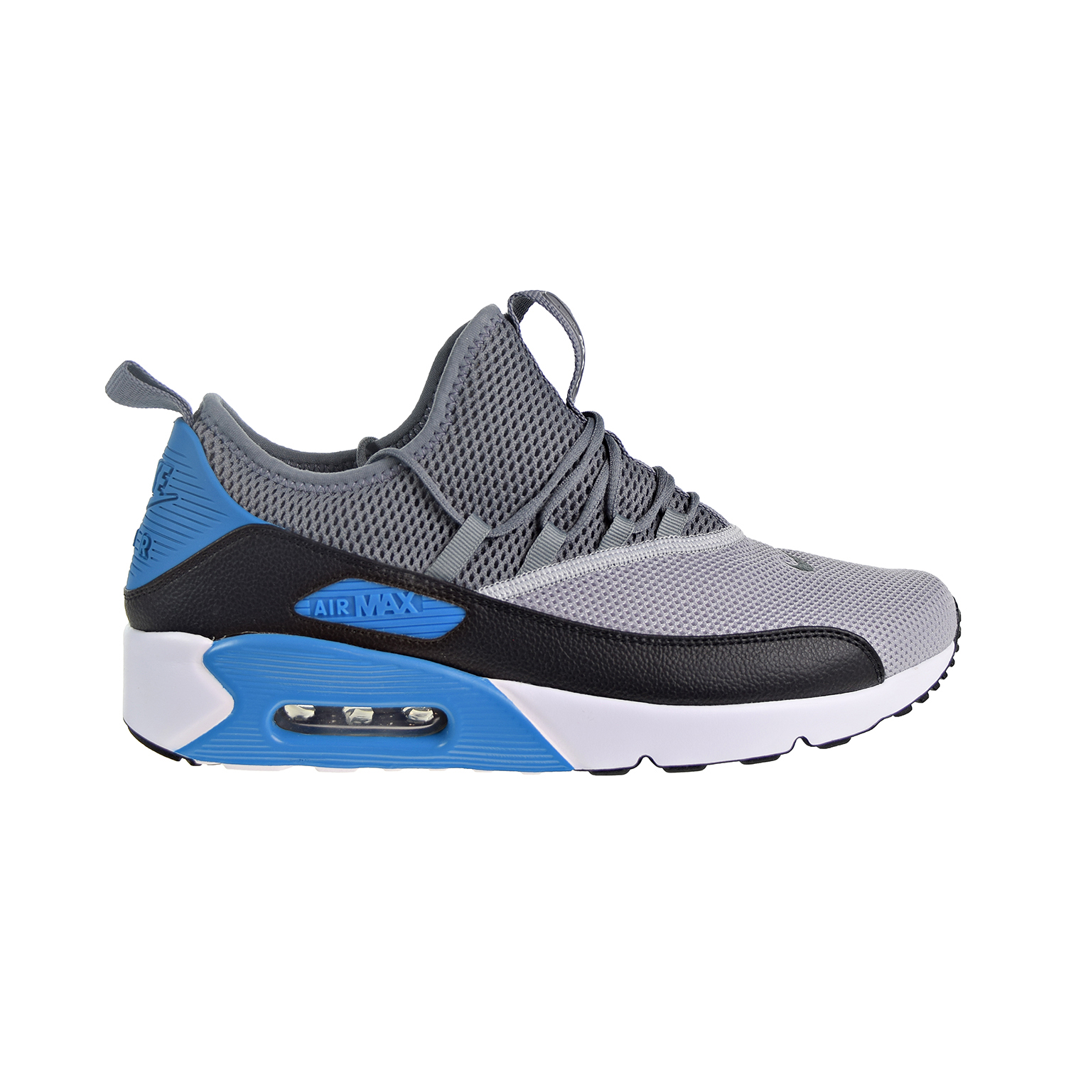 Details about Nike Air Max 90 EZ Men's Shoes Wolf GreyBlackLaser BlueWhite AO1745 004