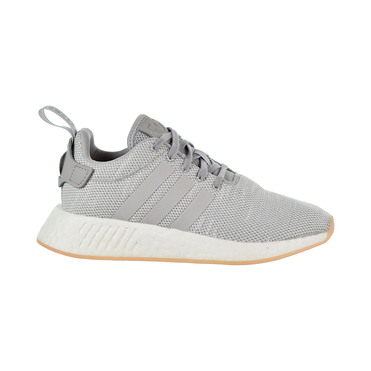 eb4a35cac48 Adidas Originals NMD R2 Women s Shoes Grey Crystal White aq0196