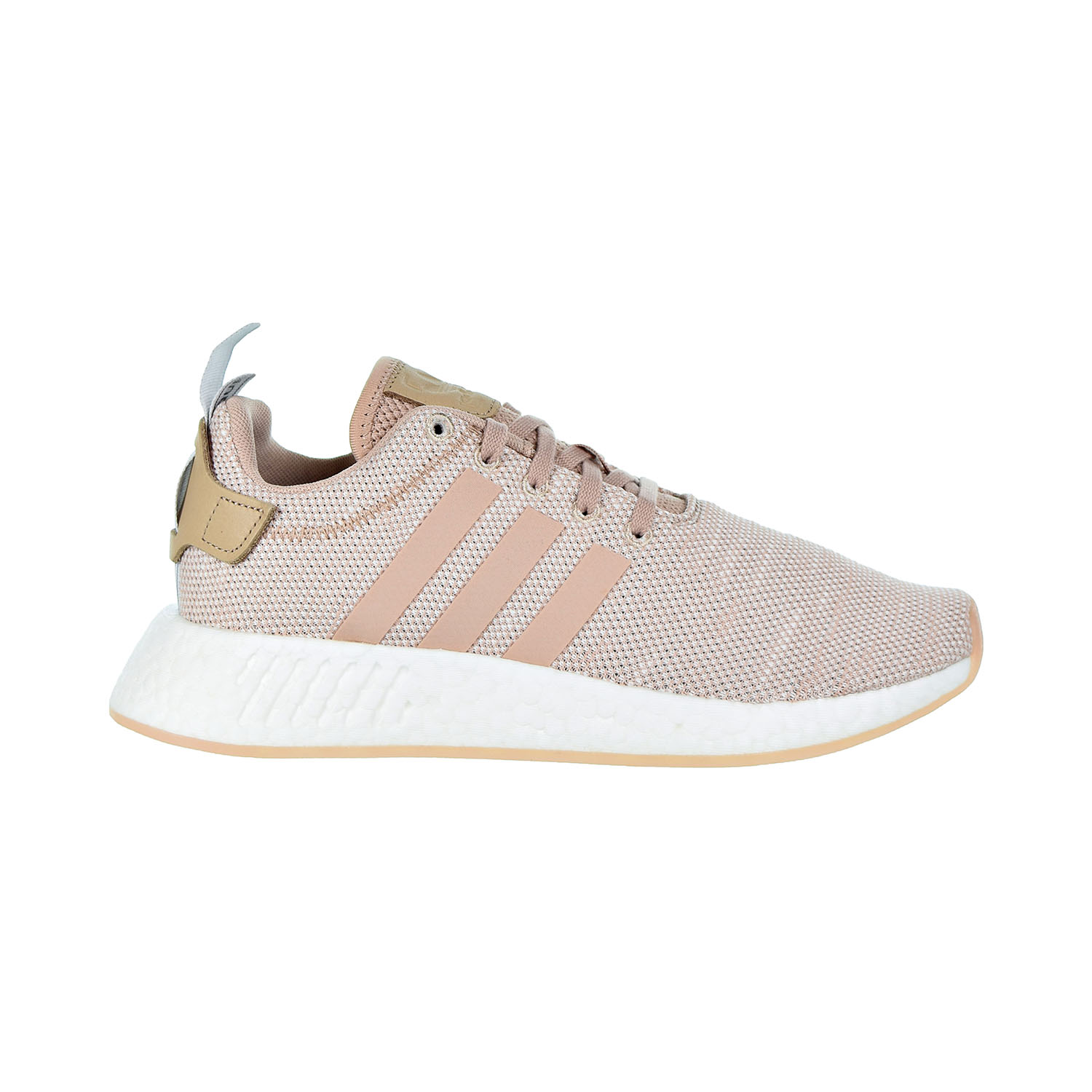 best service 7c675 77a88 Details about Adidas NMD_R2 Women's Shoes Ash Pearl/White AQ0197