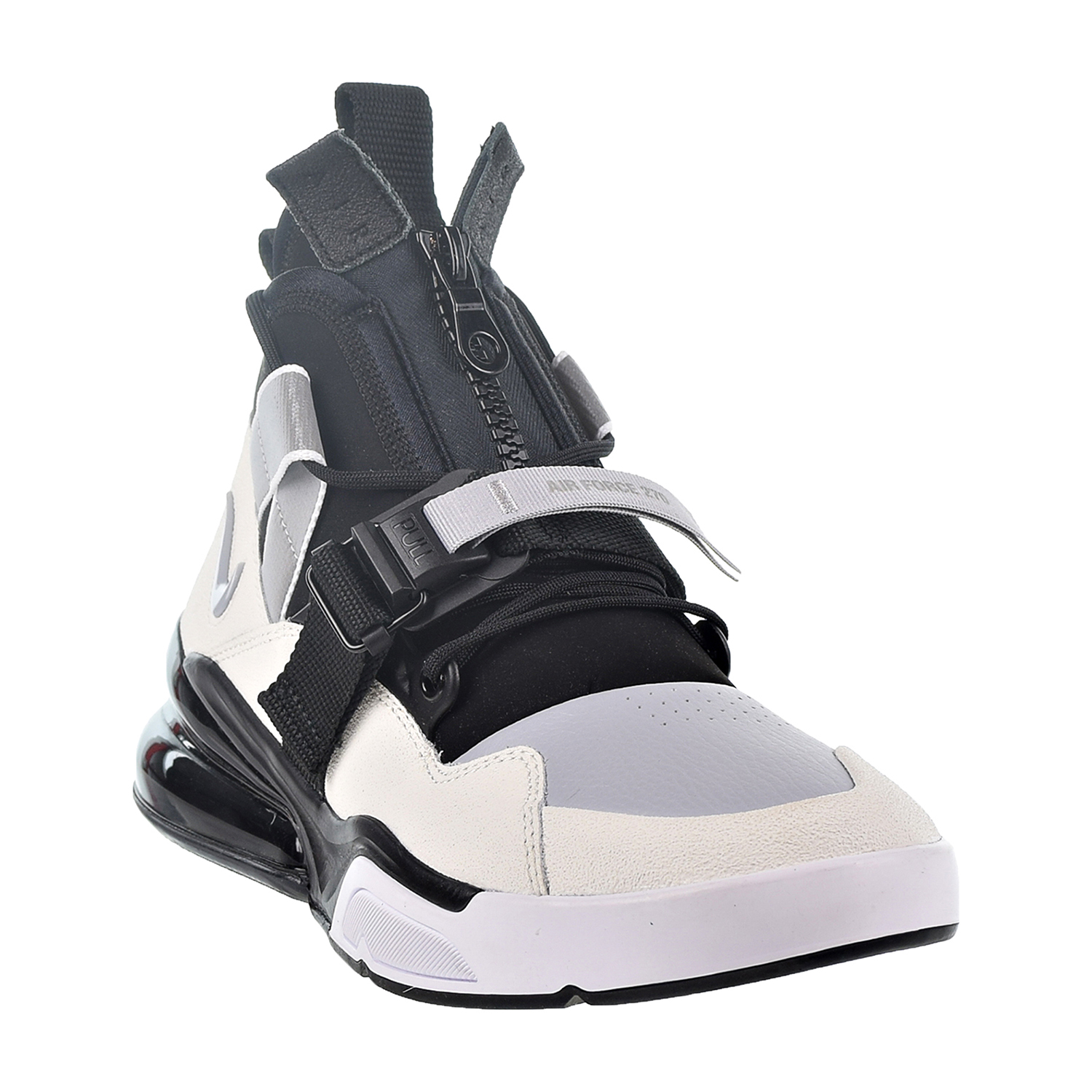 811ee4ec8d47 Nike Air Force 270 Utility Men s Shoes Black Sail Wolf Grey White aq0572-003