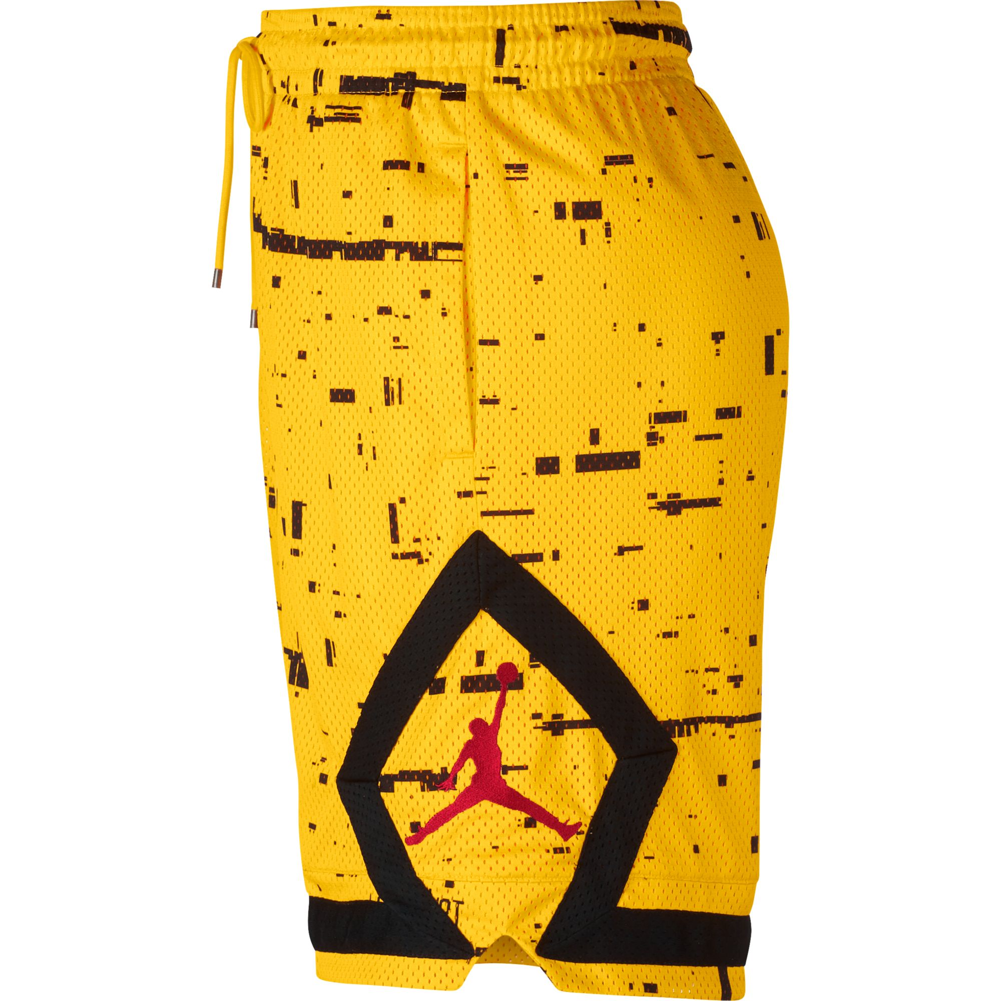 0fb51d2ed7f Nike Air Jordan Mens Diamond Shorts Last Shot Yellow/Black aq0620-719