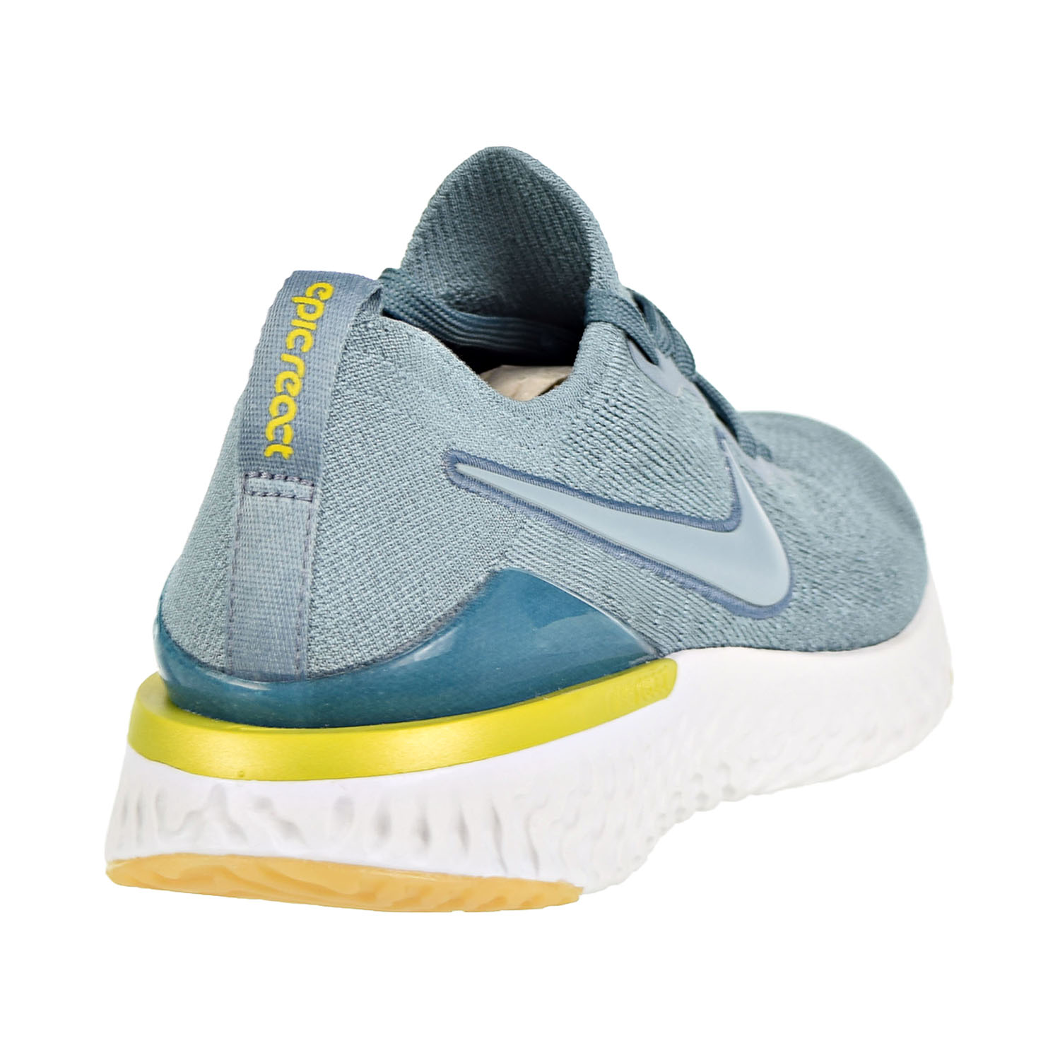 800232dd2354f Nike Epic React Flyknit 2 (GS) Big Kids  Running Shoes Aviator Grey Aviator  Grey aq3243-005