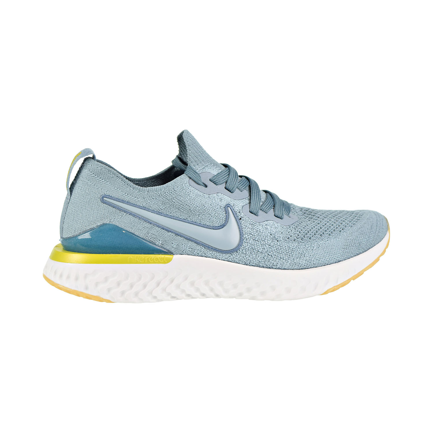 849c157914a0 Details about Nike Epic React Flyknit 2 (GS) Big Kids  Running Shoes  Aviator Grey AQ3243-005