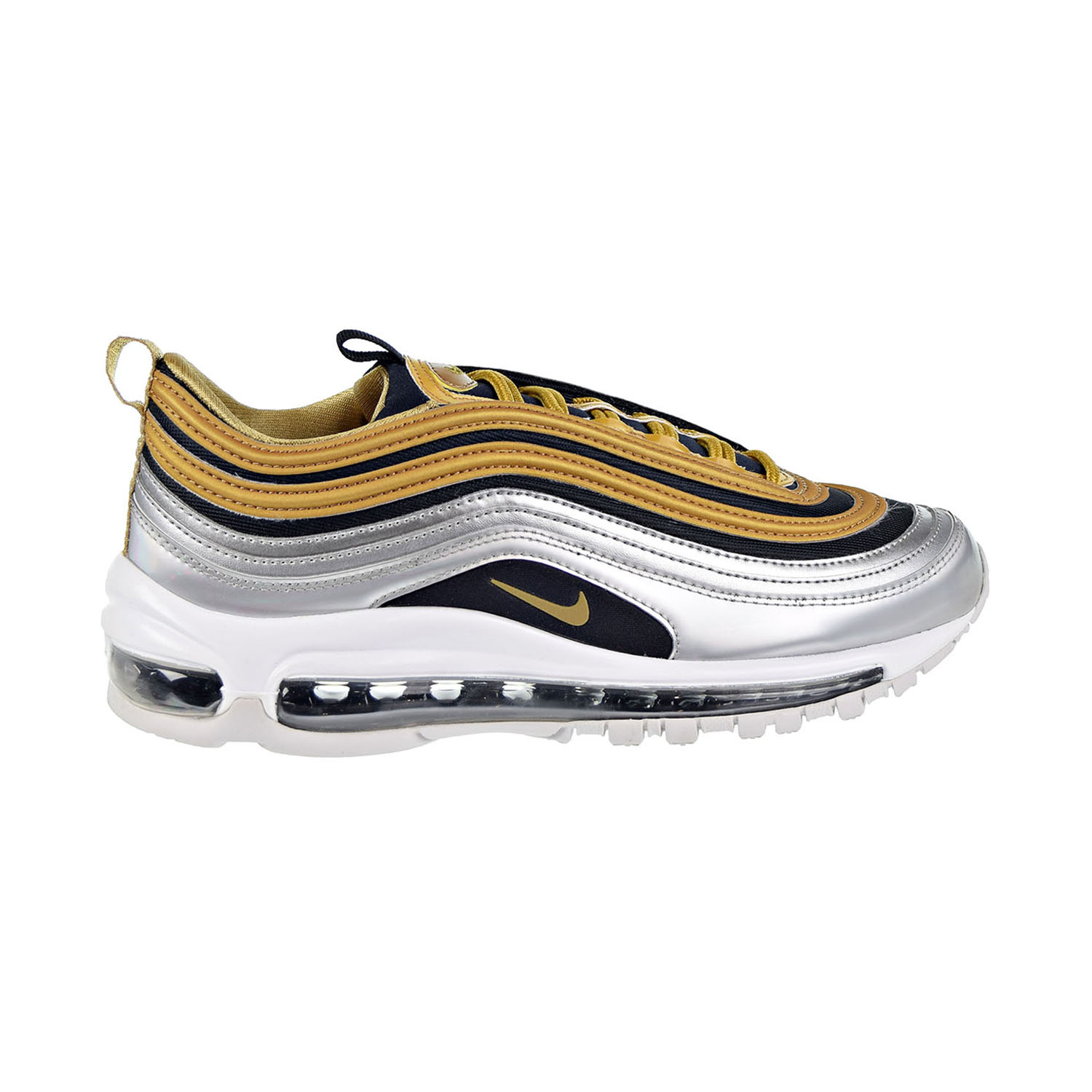 4adc45746f3e Details about Nike Air Max 97 SE Women s Shoes Metallic Gold AQ4137-700