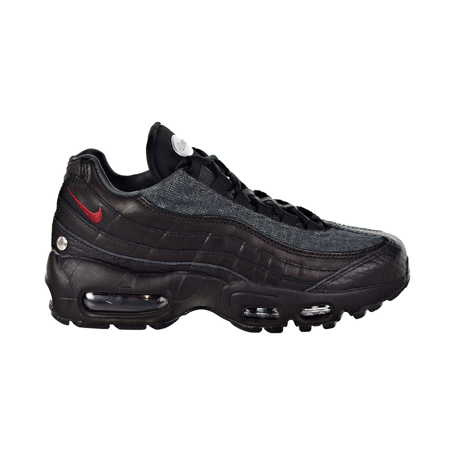 online retailer c0960 bfd98 Details about Nike Air Max 95 NRG Men s Shoes Black Anthracite Team Red  AT6146-001