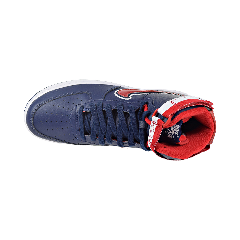 b633f48f Nike Air Force 1 High '07 LV8 Sport Men's Shoes Midnight Navy/White/Red  av3938-400
