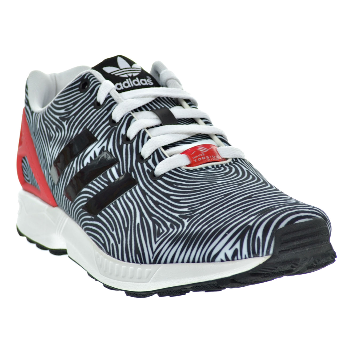 premium selection a3c33 d92ac Adidas ZX Flux Men s Shoes White Core Black Tomato b27457