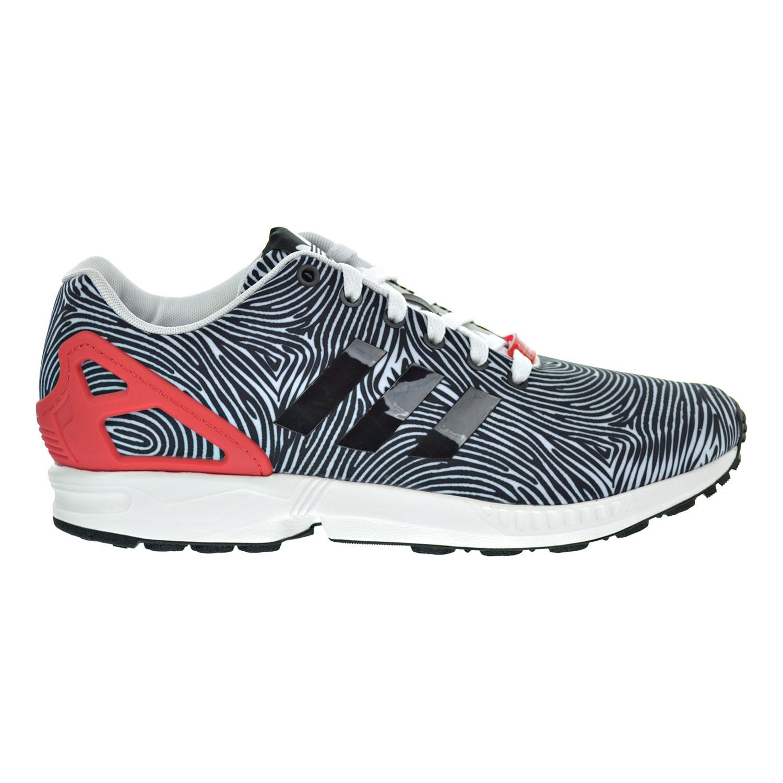 Details about Adidas ZX Flux Men's Shoes White Core Black Tomato b27457