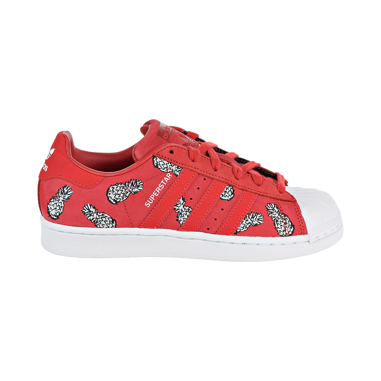 02dfec1200d1 Details about Adidas Superstar Women s Shoes Scarlet Scarlet Footwear White  b28040