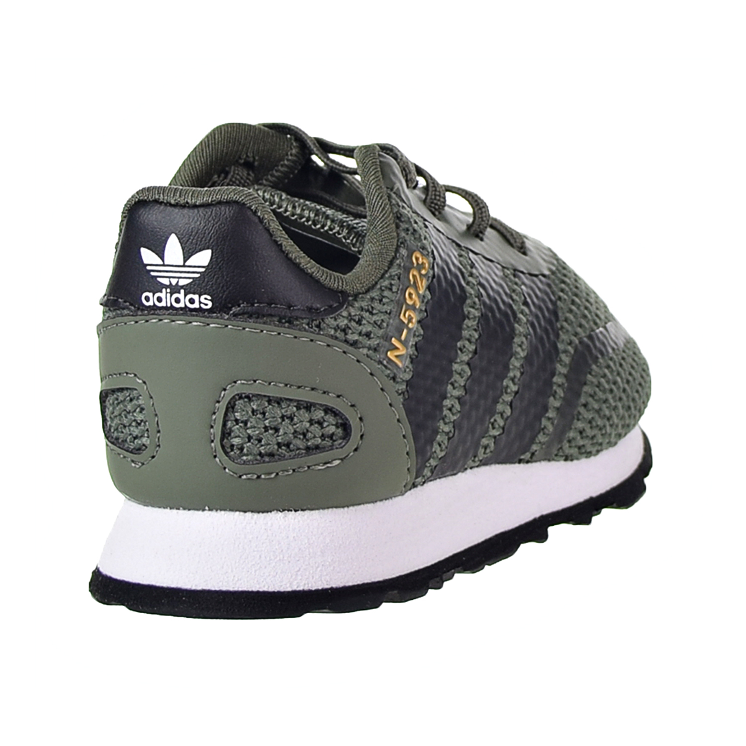 Details about Adidas N 5923 EL I Toddler's Base Green Core Black Footwear White B37154