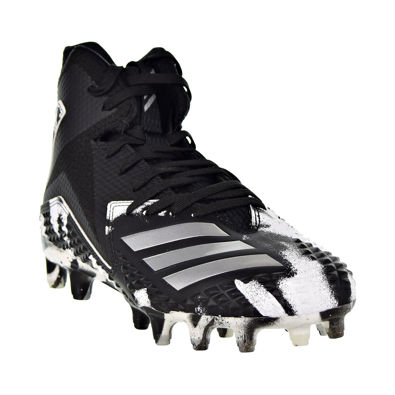 pick up 092dc 149f4 Adidas Freak X Carbon Mid RC Camo Men s Cleats Black Silver Metallic Cloud  White b37335